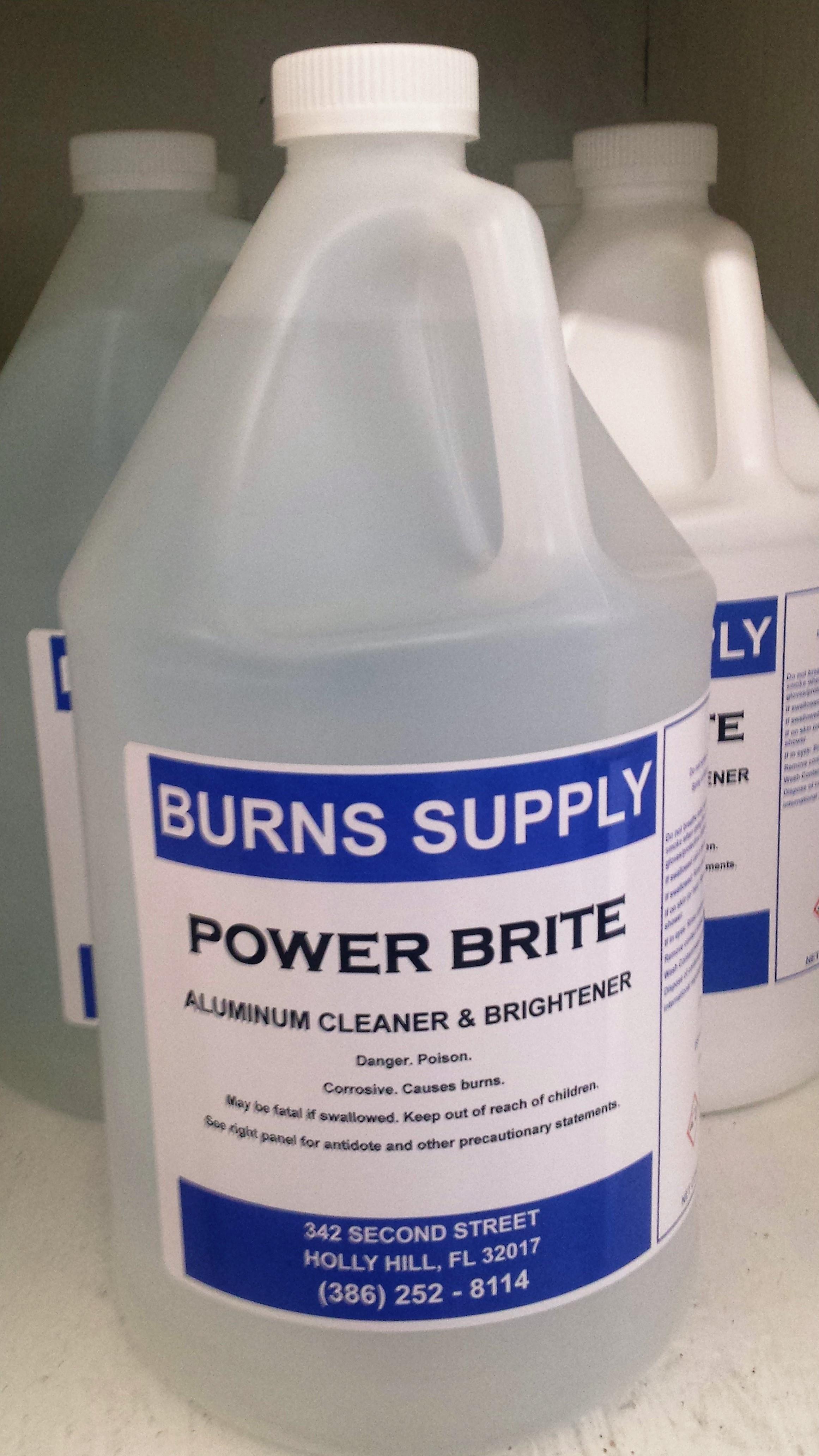 Power Brite Aluminum Cleaner - Gallon