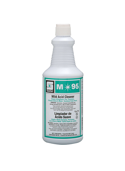 Spartan M95 Mild Acid Cleaner For Tile Qt