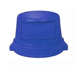 Continental 3232 BL Dome Top Lid For Huskee Model 3200, Blue