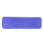Continental C103020 Super Pro II Microfiber Mops, 5 x 20-in, Blue For Ergoworx