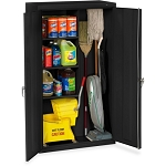 Janitorial Cabinet - 36 x 18 x 64 - Black