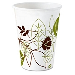 Dixie Pathways Paper Hot Cups, 8 oz, 500/case (DIX2338WS)
