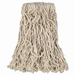 Cut-End Cotton Mop Heads, 16 oz, 1