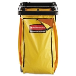 Rubbermaid Replacement Janitor Cart Vinyl Bag, Yellow (RCP 9T80 YEL)