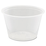 Dart Conex Polypropylene Portion Cup, 4 oz, 125/Bag, 2500/cs (DCC400PC)