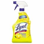 Lysol 75352 All-Purpose Cleaner, Lemon, 32-oz. Spray Bottle