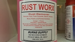 Rust Worx Cleaner Gallon