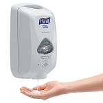 Purell TFX Touch Free Dispenser, 1200 mL, Dove Gray