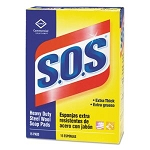 S.O.S. Steel Wool Soap Pad, 15 Pads/Box
