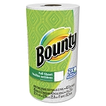 Bounty® 95028 Kitchen Paper Towels, White, 30 Rolls