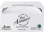 RMC 50RA-A Rest Assured Toilet Seat Cover, 20/250/CS, 5000 per case