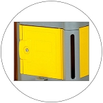 Janitorial Lock Box Continental No. 187YW