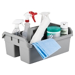 Continental 49 Gray Maxi Maid Carrier Janitor Caddy