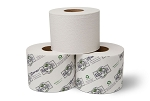 WausauPaper® EcoSoft® Controlled Use Bath Tissue, 616, 48 Rolls per Case
