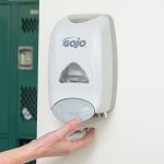 GOJO® 5150-06 FMX-12 1250 mL Dove Gray Manual Hand Soap Dispenser
