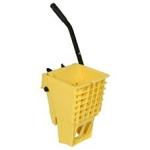 Yellow Splash Guard Side Press Wringer