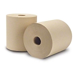 WausauPaper® EcoSoft™ Roll Towel, Natural, 313 - 8