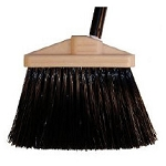 LIGHT SWEEP UPRIGHT BROOM – 5″ TRIM BLACK – HEAD ONLY