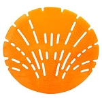 Big D® The Pearl 3D Urinal Screen - Sunburst Orange - 10 per box
