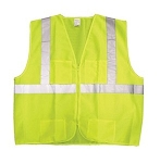 KIMBERLY-CLARK PROFESSIONAL JACKSON SAFETY ANSI Class 2 Deluxe Safety Vest, XL/XXL, Lime/Silver (KCC 223838)
