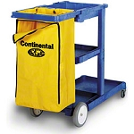 Continental Vinyl Replacement Bag for Cart #275, Yellow, each