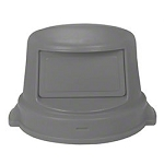 Continental Dome Top For 32 Gallon Huskee - Grey