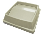 Lid for Drop Shot only Beige - Contico 1700BE