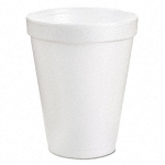 Disposable Foam Drinking Cups, POLYSTYRENE, 1000/case - 32 oz.