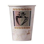 Dixie® PerfecTouch™ Paper Hot Cup - 8 oz., Coffee, 1000/case (DIX5338CD)