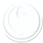 Dixie Plastic Dome Lid for Hot Cups White (DIXD9538)