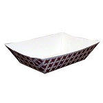 Food Tray - 2 1/2 lb., Basketweave