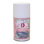 Big D Metered Room Deodorant, Plumeria , 7-oz Aerosol, (BGD475) - 12 per case