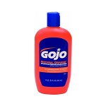 GOJO Natural Orange Pumice Lotion Hand Cleaner - 14 oz.