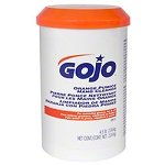 GOJO® Orange Pumice Hand Cleaner - 4.5 lb Plastic Cartridge