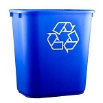 Continental 28 Quart Recycling Container