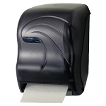 San Jamar Oceans Savvy Lever Roll Towel Dispenser w Auto-Transfer