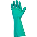 Safety Zone 22 Mil Green Nitrile 18'' Unlined Glove - Large - 100/case