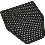 RMC Urinal Floor Mats, Black, Pack Of 6