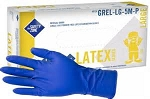 Safety Zone - GRHL 5M - Glove Latex Hi-Risk PF Medium 50/Box