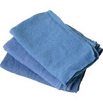 Huck Towel Blue 50/count/Pack