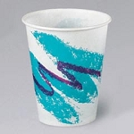 Solo Jazz Waxed Paper Cold Cups 5 oz., 3000/cs (SCCR53J)