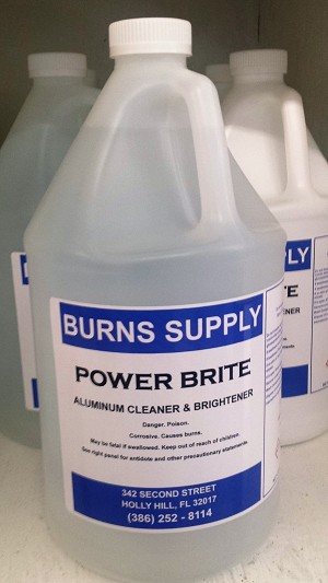 Power Brite Aluminum Cleaner - Gallon