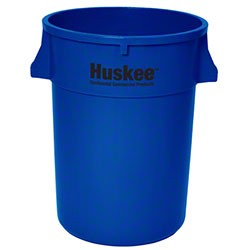 Continental Round Huskee w/o lid - 44 Gal., Blue
