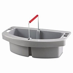 Rubbermaid Brute Container Maid Caddy, Gray