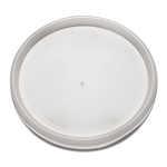 Dart Plastic Lids for 8, 12, 16 oz. Hot/Cold Foam Cups, Vented, 1000/Carton