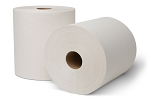 WausauPaper® EcoSoft® Controlled Roll Towels, White, 8'' x 630', 6 rolls