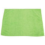 Green Microfiber Towel, 16