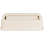 Continental Beige Drop Shot Wall Hugger Lid