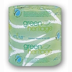 Green Heritage Toilet Tissue 1 PLY 96 rolls/case