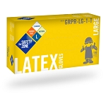 Latex - Powder Free Gloves - 100/Box